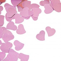 CONFETTIS DE TABLE COEUR 10G ROUGE