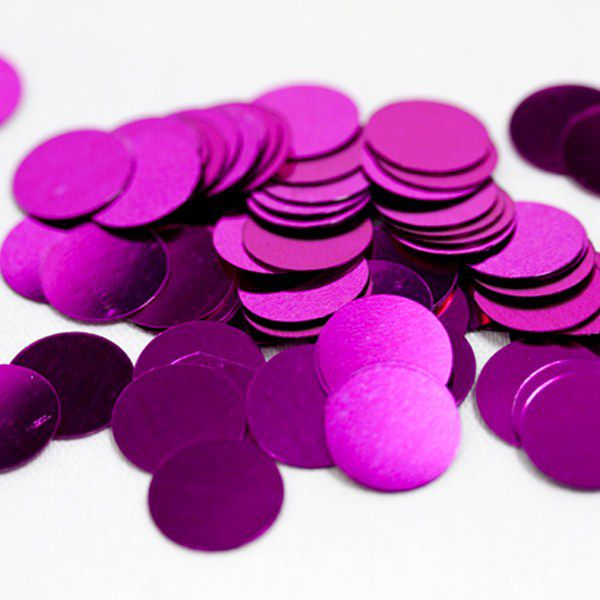 CONFETTIS DE TABLE PASTILLE FUCHSIA - GM