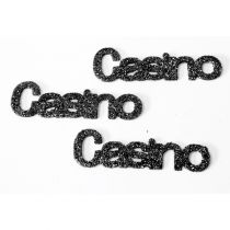 CONFETTIS DECORATION DE TABLE CASINO (x6
