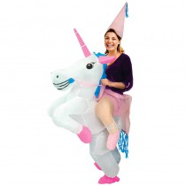COSTUME AUTO GONFLABLE LICORNE