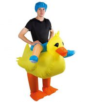 costume gonflable canard pour adutlte