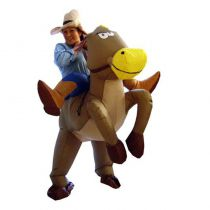 Déguisement cheval gonflable pas cher