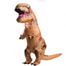 déguisement gonflable dinosaure géant t rex pour adulte