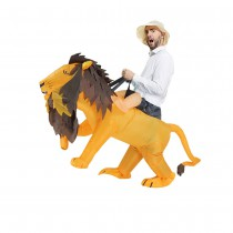 COSTUME GONFLABLE LION