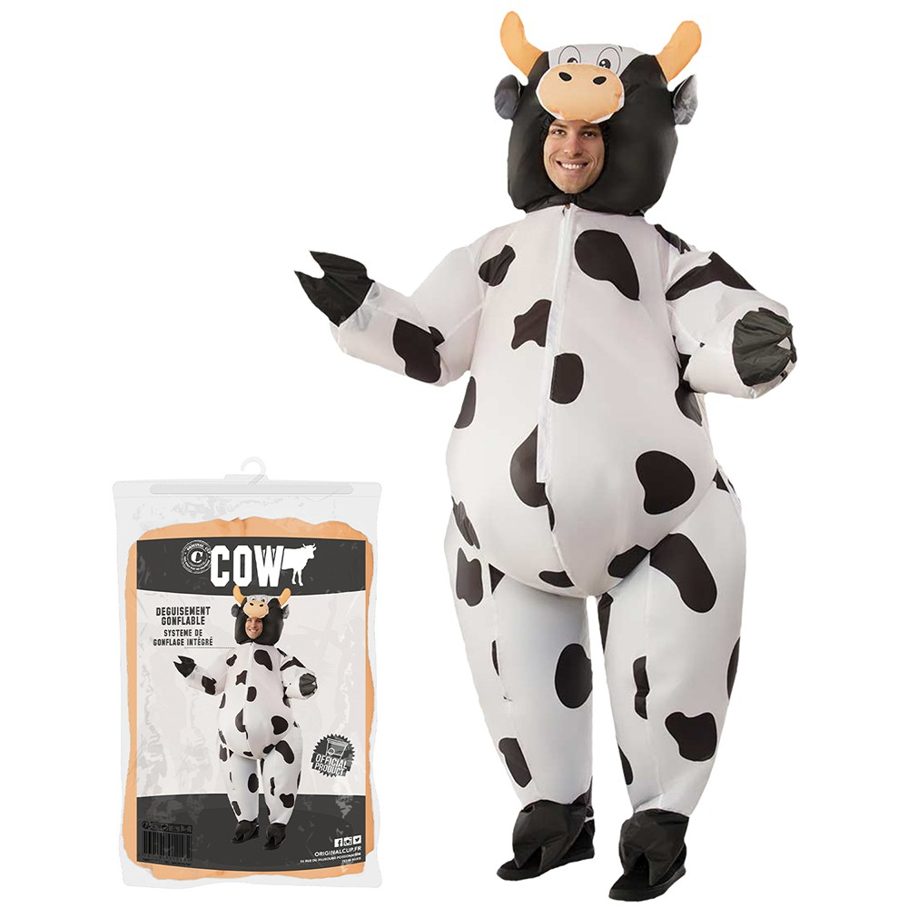 COSTUME GONFLABLE VACHE
