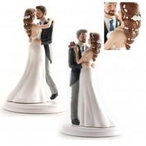 COUPLE MARIAGE DANSANT 19 CM