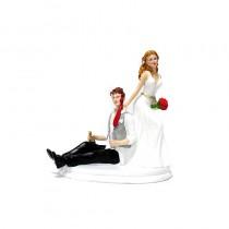 COUPLE MARIAGE HOMME SOUL 14 CM