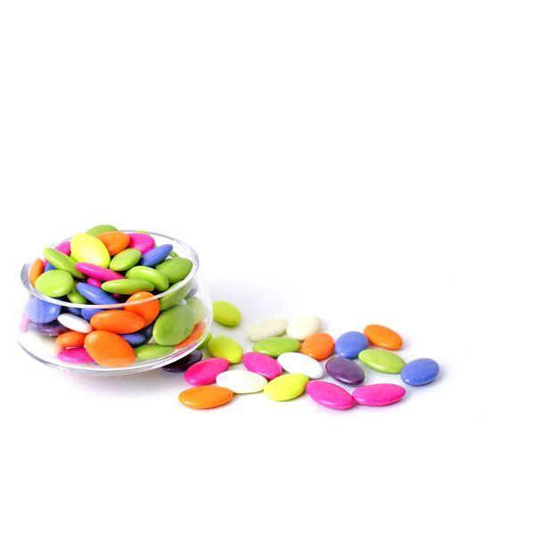 dragée chocolat multicolore