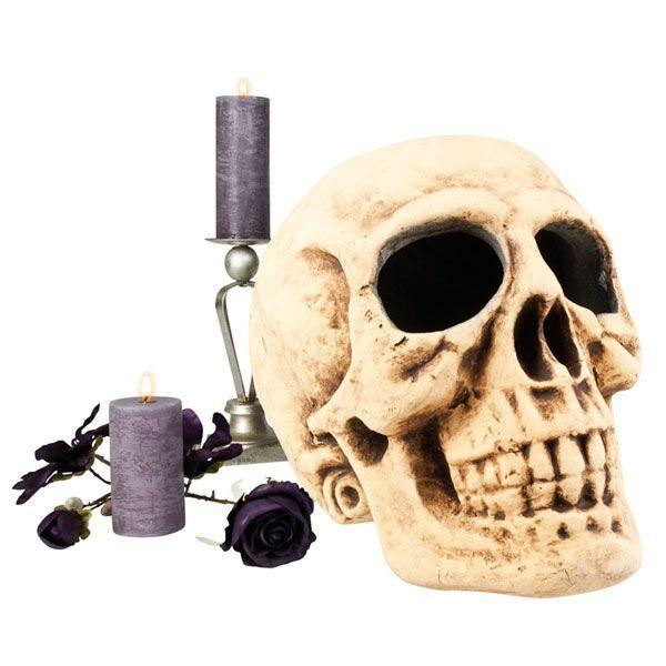 crâne décoration Halloween