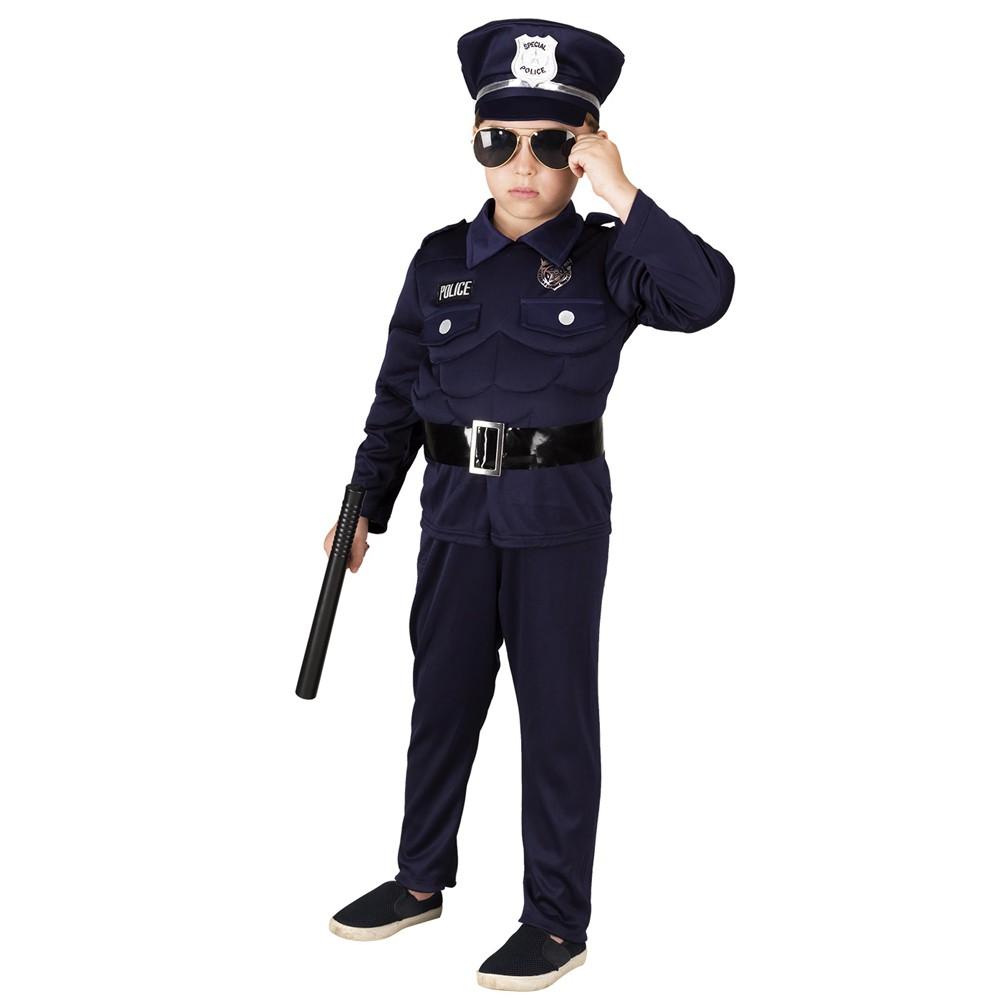 DÉGUISEMENT AGENT POLICE GARÇON