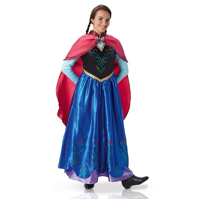 dguisement anna la reine des neiges adulte loading zoom - Robe Anna Reine Des Neiges