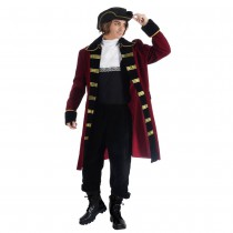 DÉGUISEMENT CAPITAINE EDWARD PIRATE HOMME