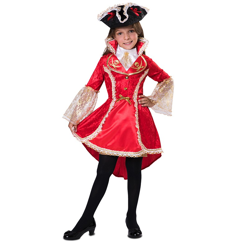 DÉGUISEMENT CAPITAINE PIRATE FILLE