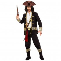 DÉGUISEMENT CAPITAINE PIRATE TERRIBLE HOMME