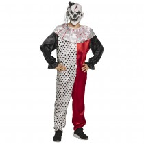 DÉGUISEMENT CLOWN PSYCHO ADULTE