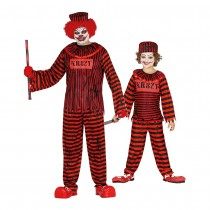 DÉGUISEMENT CLOWN PSYCHO DUO ADULTE ENFANT