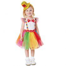 Déguisement clown pour fille carnaval