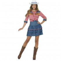 DÉGUISEMENT COWGIRL RODEO ADULTE