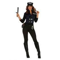 déguisement agent du S.W.A.T femme