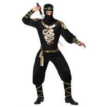 déguisement de ninja noir