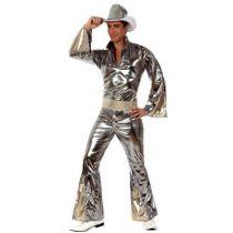 déguisement disco argent