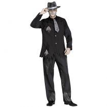 déguisement gangster noir fantôme adulte