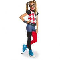 costume Harley Quinn pour fille