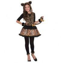 déguisement léopard ado