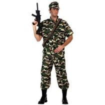 DÉGUISEMENT MILITAIRE CAMOUFFLAGE HOMME