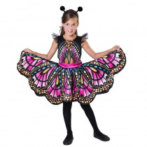 DÉGUISEMENT PAPILLON MULTICOLORE FILLE
