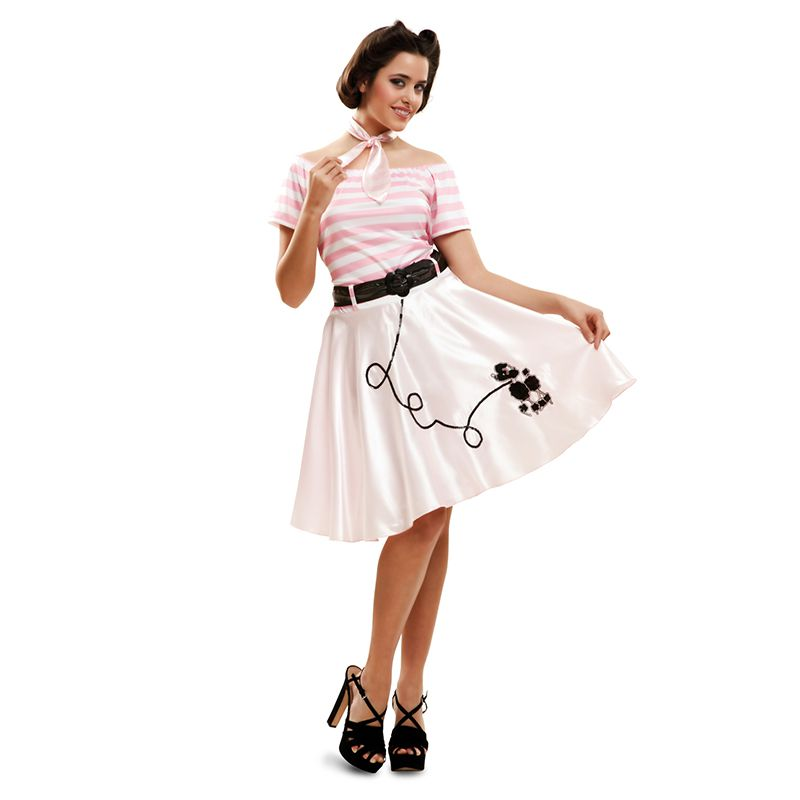 DÉGUISEMENT PIN UP ROSE ADULTE