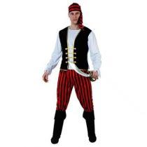 déguisement pirate à rayures