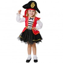 DÉGUISEMENT PIRATE TUTU FILLE