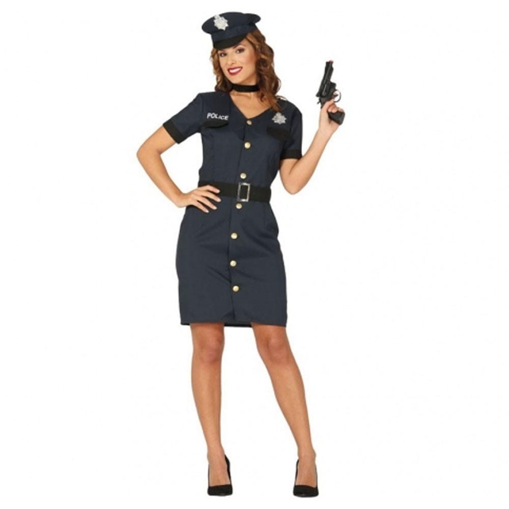 DÉGUISEMENT POLICIÈRE LUXE FEMME