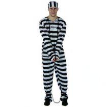 DÉGUISEMENT PRISONNIER ADULTE