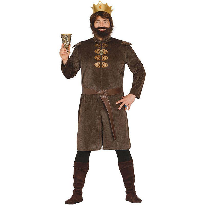 déguisement roi médiéval adulte