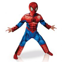 costume spider man 3D pour enfant