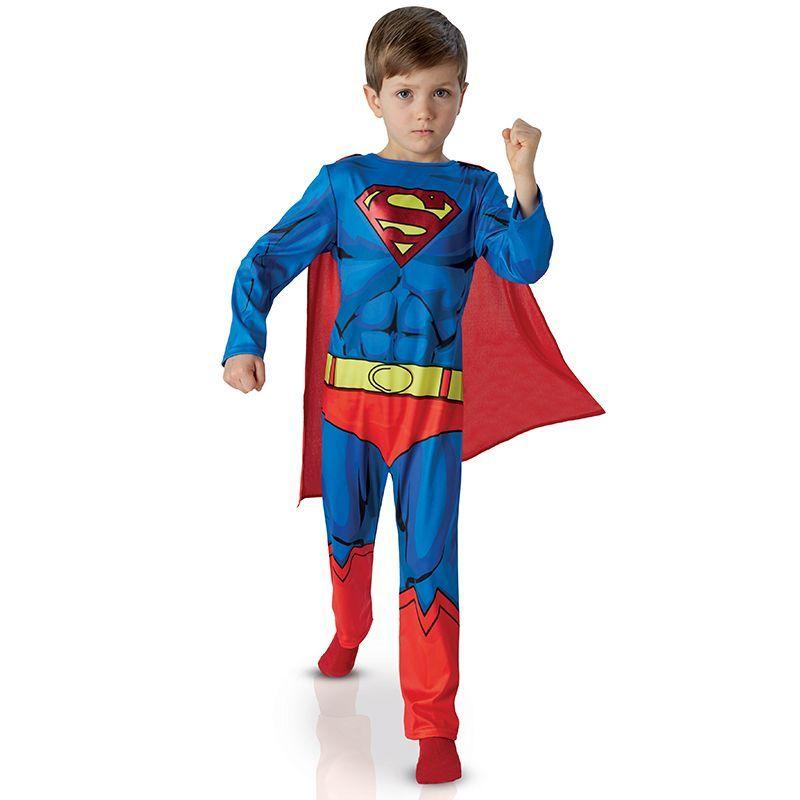 déguisement superman comic book enfant