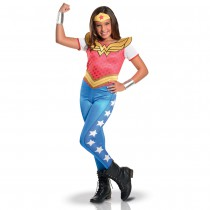 DÉGUISEMENT WONDER WOMAN SUPER HERO GIRLS FILLE