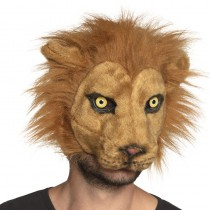 DEMI-MASQUE LION