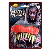 DENTS DE MONSTRE POINTUES