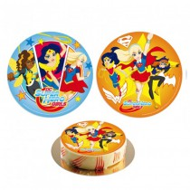 DISQUE SUPER HERO GIRLS AZYME 20CM
