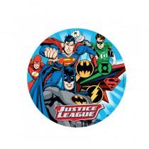 DISQUE SUPERMAN BATMAN EN AZYME 20CM