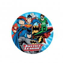 DISQUE SUPERMAN BATMAN EN AZYME 20CM