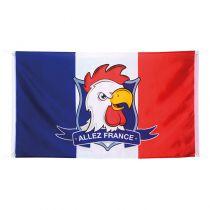 DRAPEAU ALLEZ LA FRANCE 90X150CM