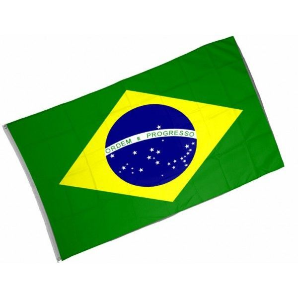 DRAPEAU BRÉSILIEN 90*150CM