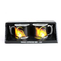 DUO TASSES EXPRESSO DARK J'ADORE