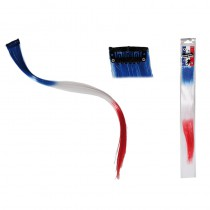 EXTENTIONS CHEVEUX BLEU BLANC ROUGE