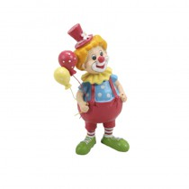 FIGURINE CLOWN MULTICOLORE 12.5CM