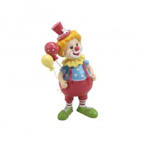 FIGURINE CLOWN MULTICOLORE 17CM